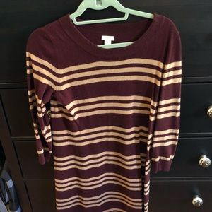 J.Crew sweater dress. Size extra small